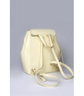 Рюкзак лимонний з натуральної фактурної шкіри 1 - Respected-Person
