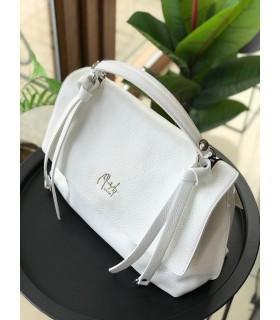 Сумка-портфель велика біла 1 - Respected-Person