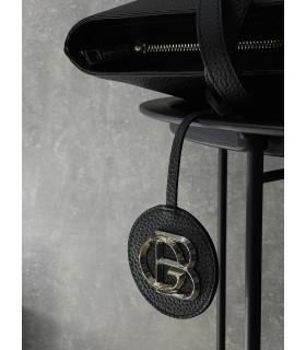 Шопер чорний з логотипом 1 - Respected-Person