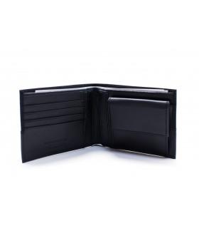 Портмоне чорне з логотипом Trussardi 1 - Respected-Person