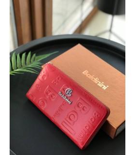 Гаманець червоний з лого - Respected-Person
