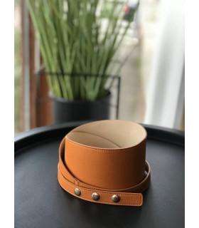 Ремінь коричневий на пояс