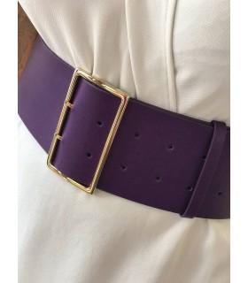 Ремінь фіолетовий широкий 1 - Respected-Person