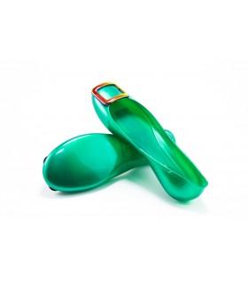 Балетки зелені силіконові 1 - Respected-Person