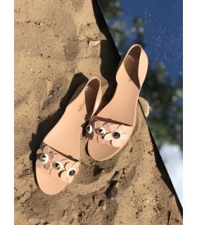 Туфлі коричневі силіконові - Respected-Person