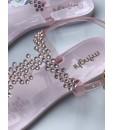 Босоніжки рожеві з камінням силіконові 1 - Respected-Person