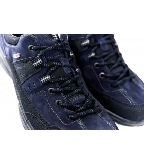 Кросівки чоловічі сині з натуральної шкіри 1 - Respected-Person