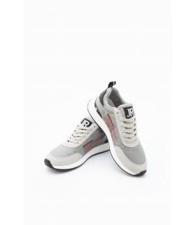 Кросівки сірі з текстилю і шкіри 1 - Respected-Person