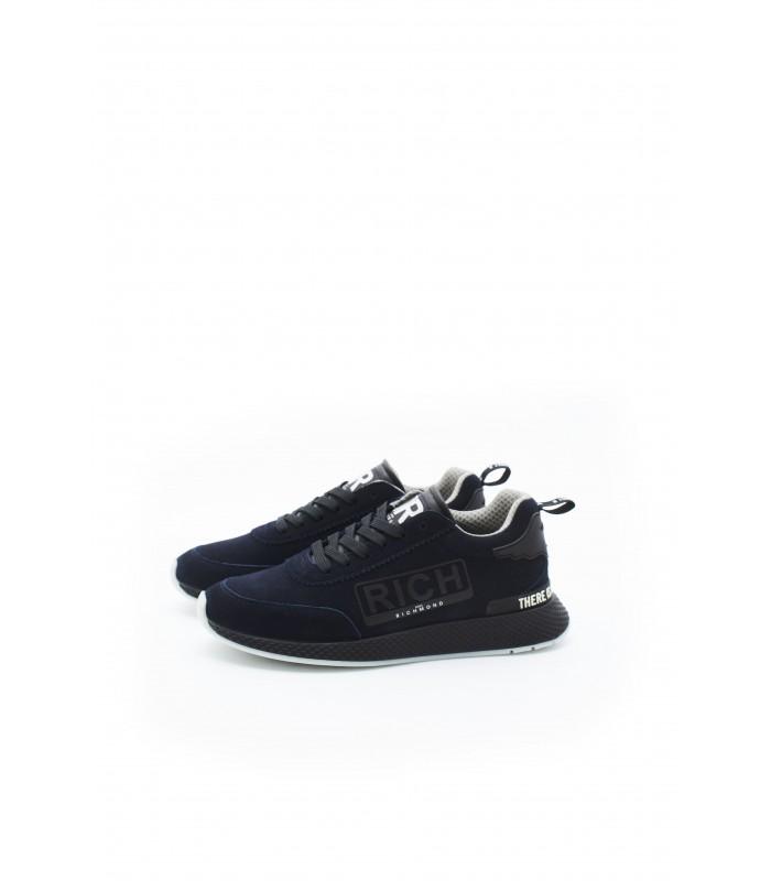 Кросівки сині з натуральної замші