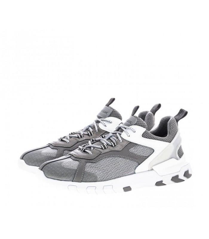 Кросівки сірі чоловічі на високій підошві