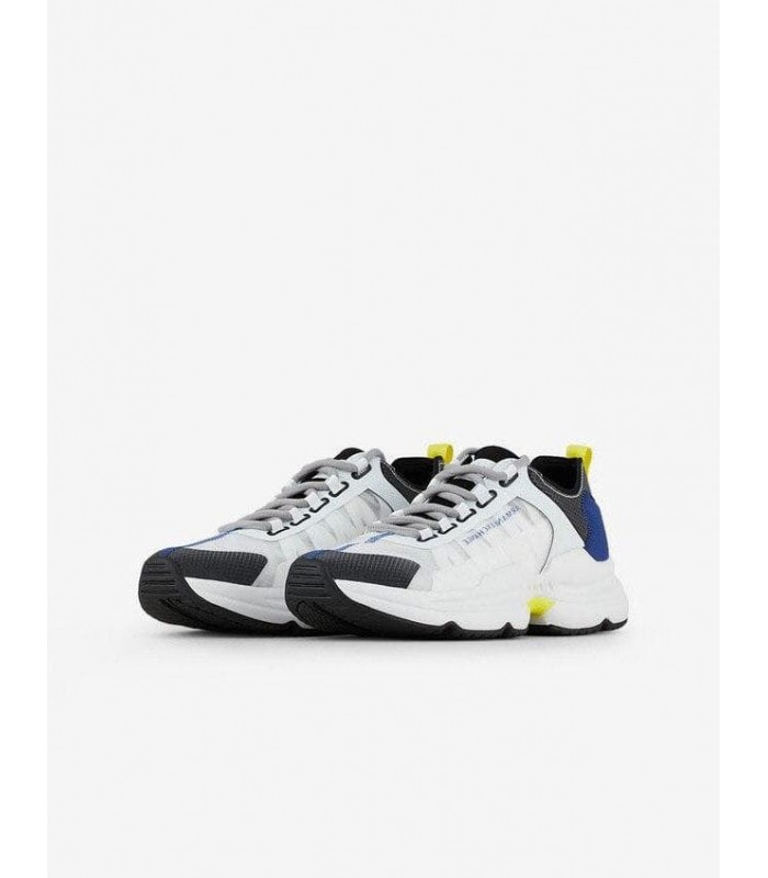 Кросівки білі чоловічі комбіновані