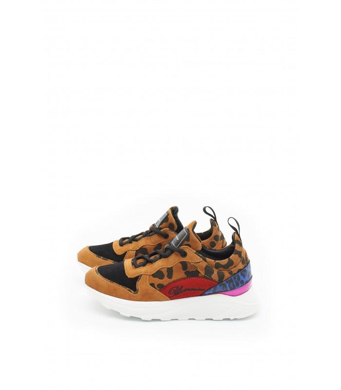 Кросівки тигрові комбіновані
