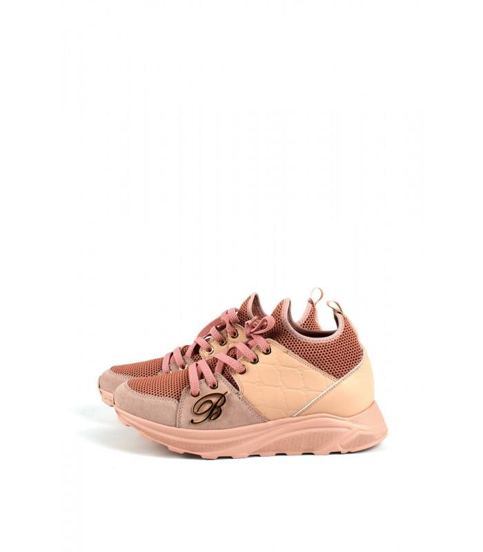 Кросівки рожеві стрейчеві
