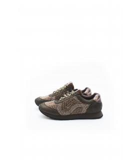 Кросівки бронзові в стрази - Respected-Person