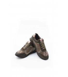 Кросівки бронзові в стрази 1 - Respected-Person