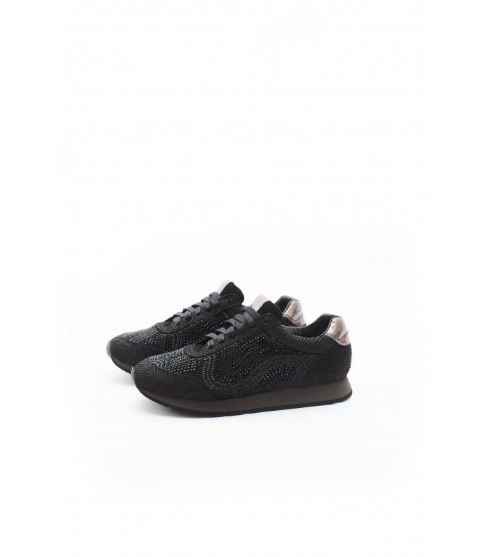Кросівки чорні в стрази