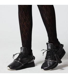 Кросівки чорні комбіновані 1 - Respected-Person