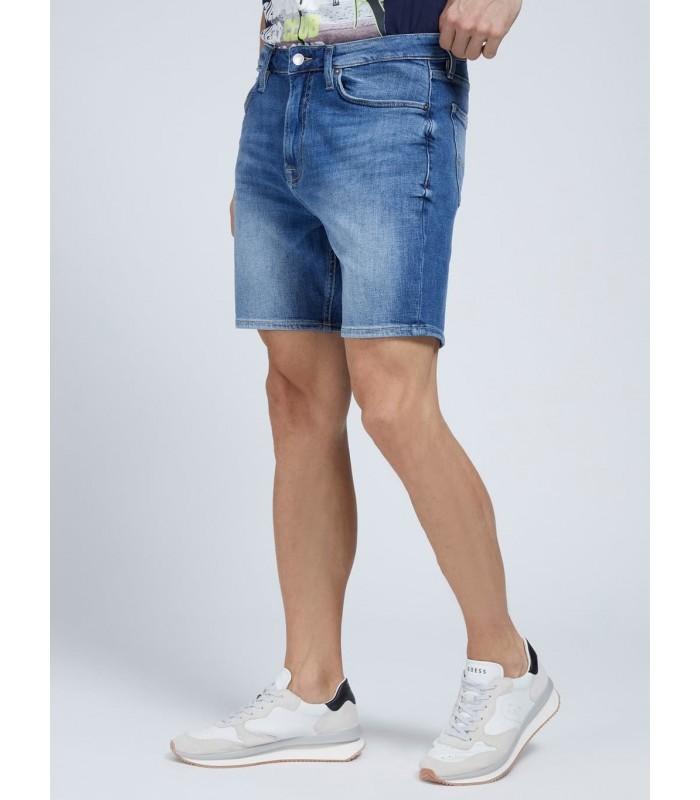 Шорти джинсові темно-сині чоловічі