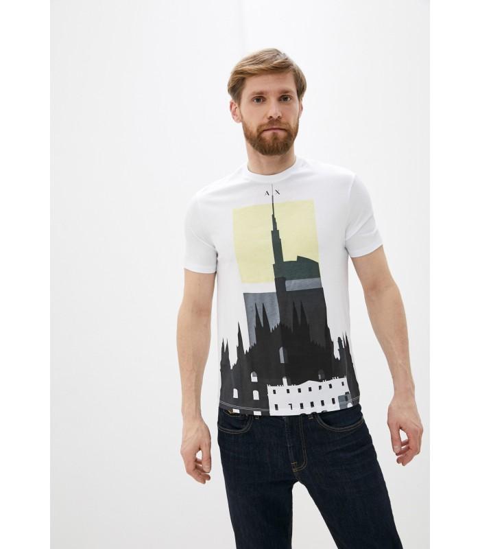 Футболка біла чоловіча з башнею
