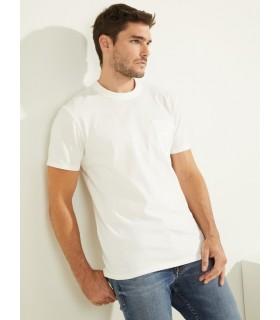 Футболка біла чоловіча з кишеньою  - Respected-Person