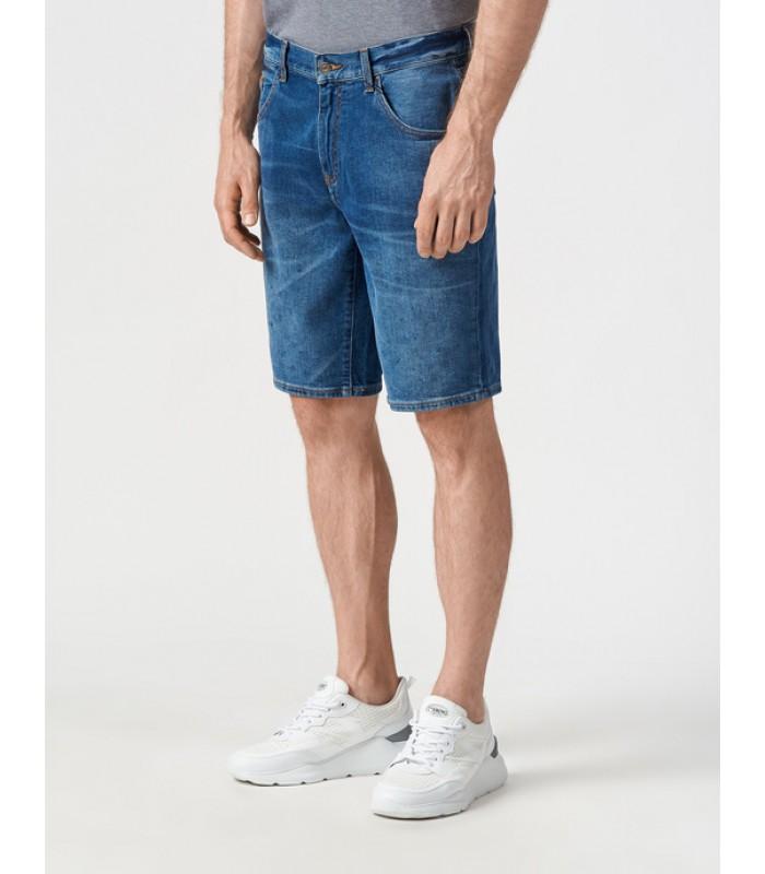 Шорти чоловічі джинсові темно-сині
