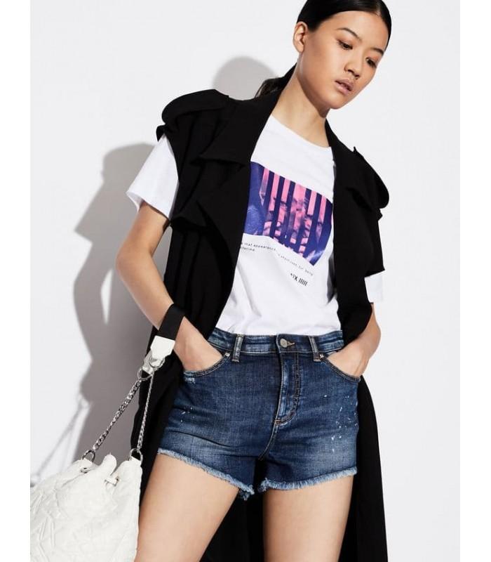 Шорти джинсові з бахромою