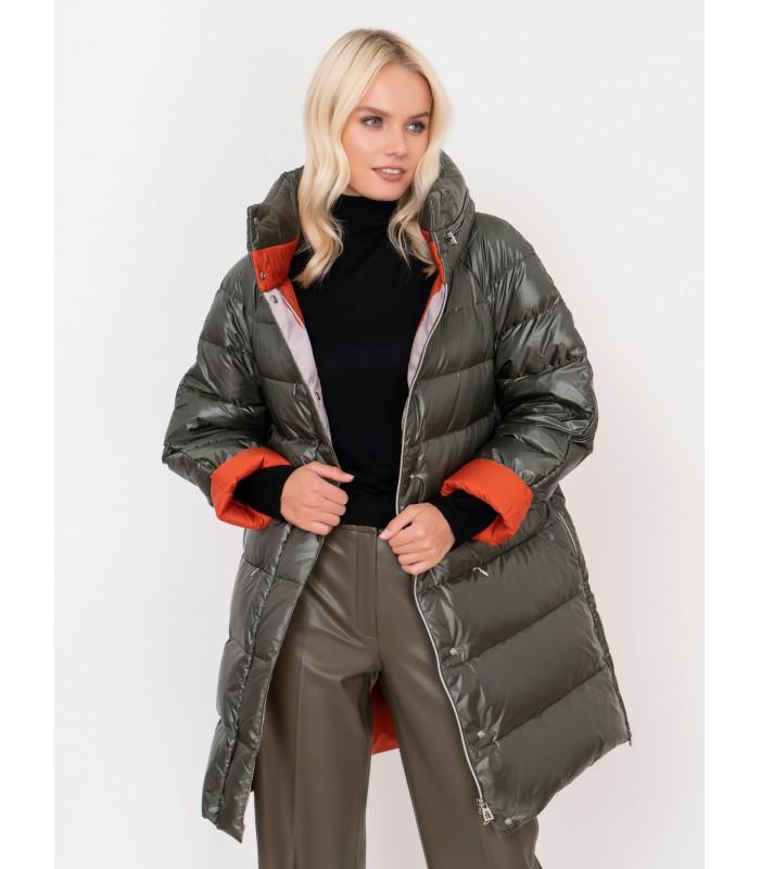 Куртка жіноча двостороння подовжена
