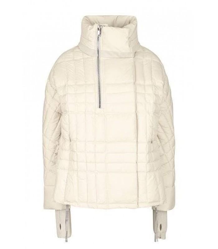 Куртка-пуховик кремова
