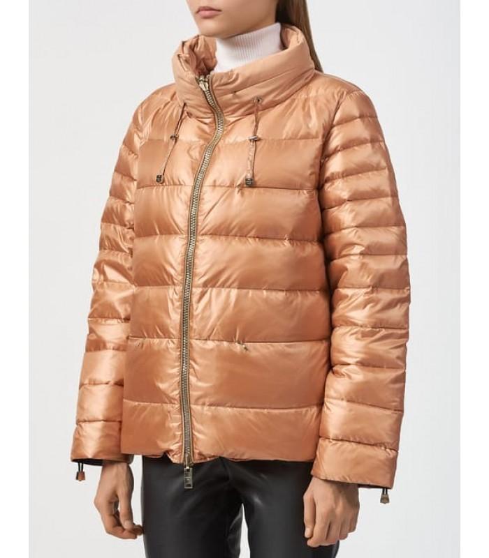Куртка бронзова двостороння на пуху