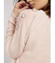 Джемпер пильно-рожевий в`язаний  1 - Respected-Person