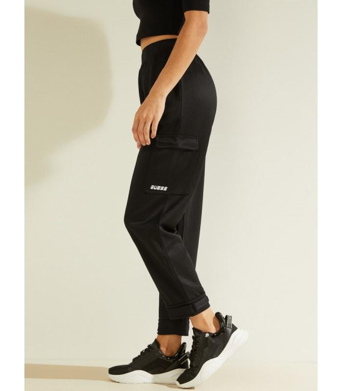 Штани чорні спортивні з кишенями