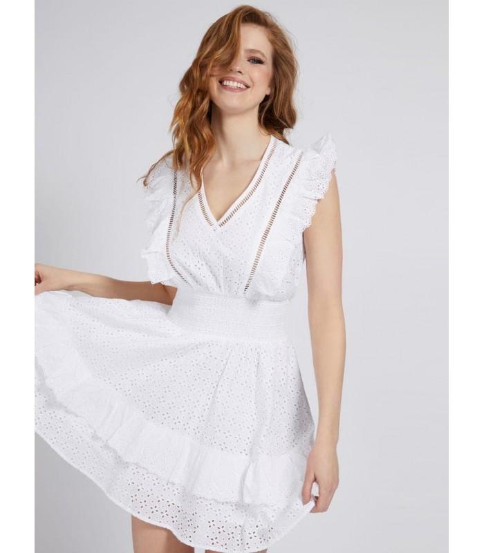 Сукня біла з батисту коротка