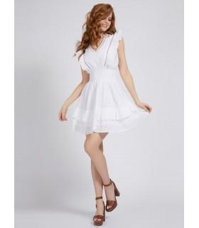 Сукня біла з батисту коротка 1 - Respected-Person