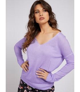 Пуловер ліловий оверсайз - Respected-Person