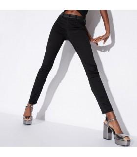 Брюки чорні стрейчеві Skinny 1 - Respected-Person