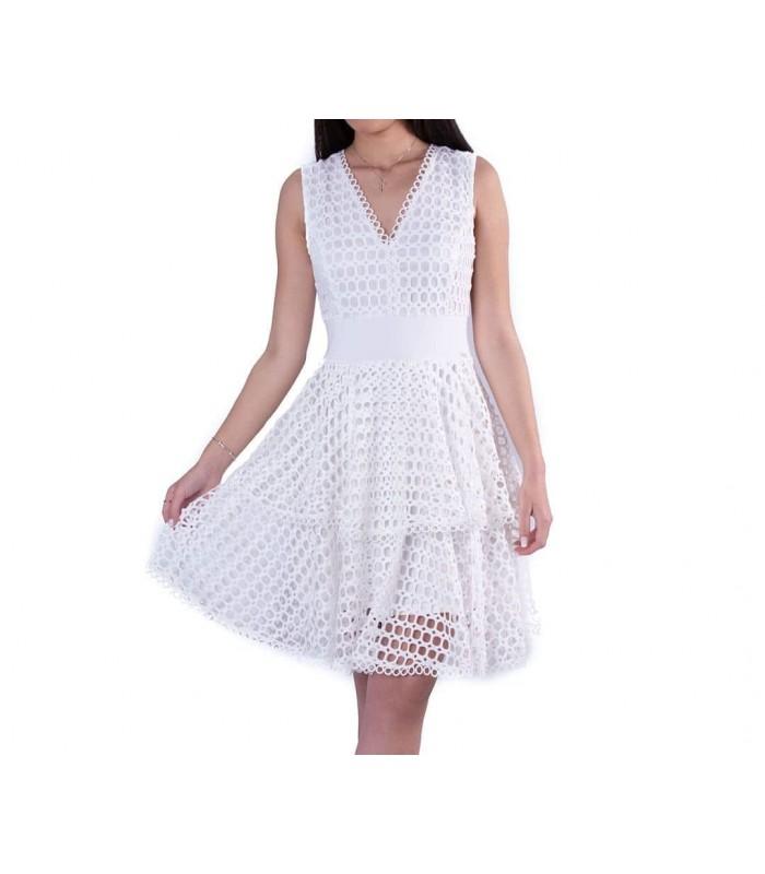 Сукня ажурна біла