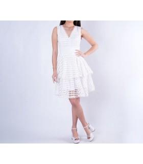 Сукня ажурна біла 1 - Respected-Person