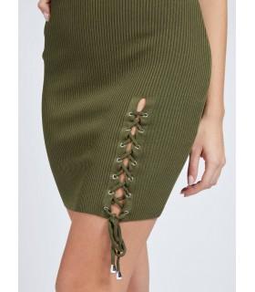 Сукня-резинка хакі 1 - Respected-Person