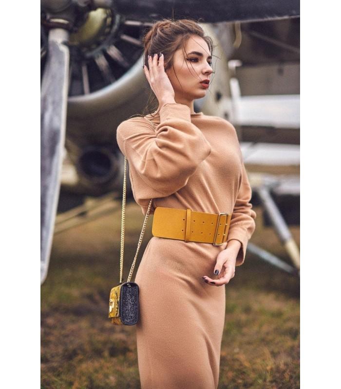 Сукня коричнева з кашеміру
