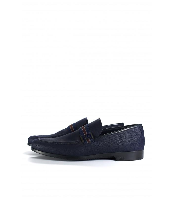 Туфлі-лофери з деніму