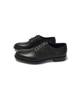Туфлі чорні з фактурної шкіри - Respected-Person