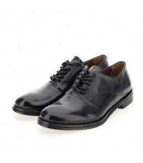 Туфлі чорні чоловічі з гладкої шкіри - Respected-Person