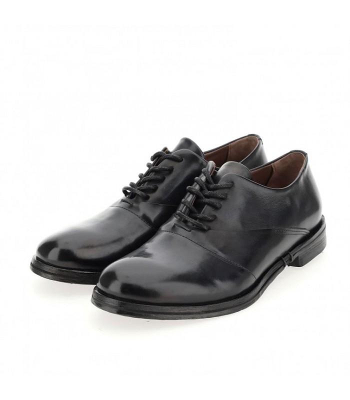 Туфлі чорні чоловічі з гладкої шкіри