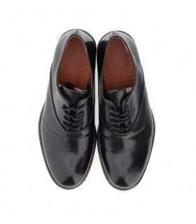 Туфлі чорні чоловічі з гладкої шкіри 1 - Respected-Person